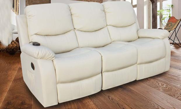Divano Reclinabile 4 Posti : Divano massaggiante reclinabile groupon goods