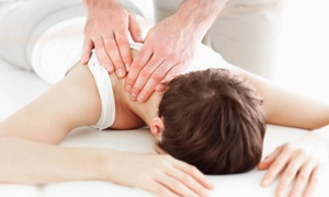 Duve Wellness Center: Chiropractic Bundles with Massage at Duve Wellness Center (Up to 69% Off). Two Options Available.