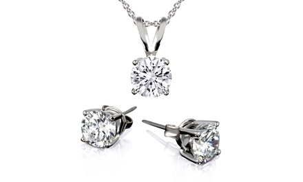 Necklace and Earring Set with Swarovski Elements