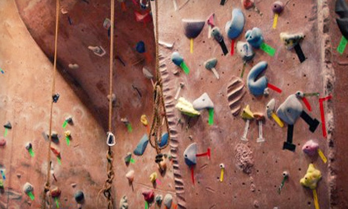 Stoneworks Climbing Gym - Vose: Five Visits with Gear or One-Month of Unlimited Wall Access with Gear at Stoneworks Climbing Gym (Up to 51% Off)