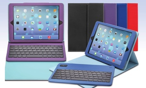 Aduro Removable Bluetooth Keyboard Case For Ipad Mini, Ipad Air, Or Ipad 2/3/4