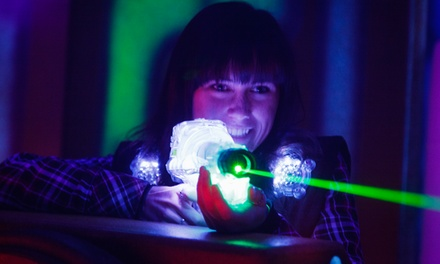 Three Games of Laser Tag and Soda for Two or Four at Safari Quest Family Fun Center (Up to 62% Off)