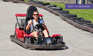 Camelot Park Family Entertainment Center: Family Fun Packages with Mini Golf and Bumper Boat Rides for One or Two at Camelot Park (Up to 49% Off)