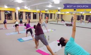 Bikram Hot Yoga Central Fremont: 10 Yoga Classes or One Month of Unlimited Classes at Bikram Hot Yoga Central Fremont (Up to 73% Off)