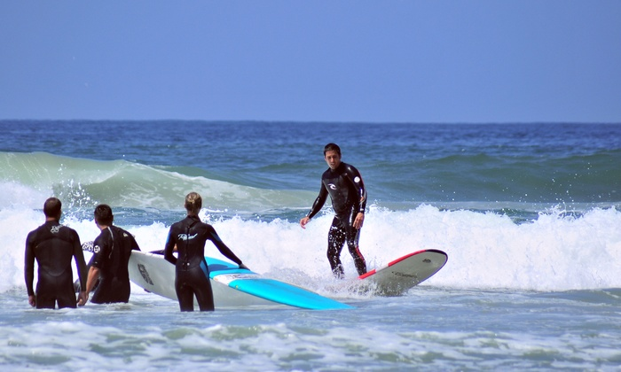 Surfing Or Standup Paddleboarding Lesson At Clint Carroll Surf School Up To 81 Off Five Options Available