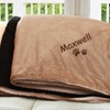 Up to 47% Off Embroidered Pet Sherpa Blanket