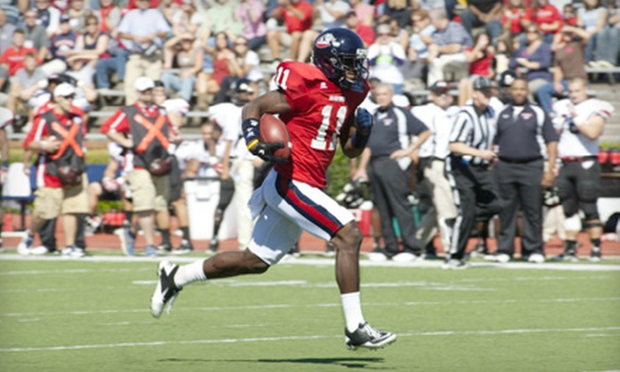 Samford Bulldogs - Homewood: Two or Four Tickets to a Samford Bulldogs Football Game at Seibert Stadium on November 5 at 11 a.m. (Up to 55% Off)