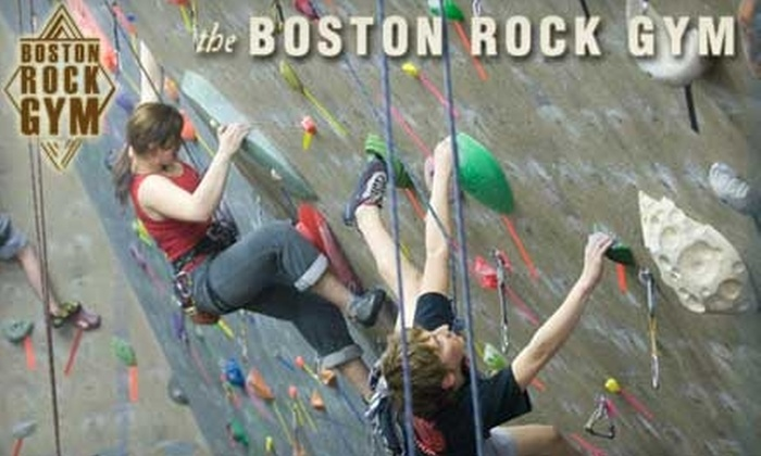 Boston Rock Gym - Woburn: $25 for Three-Hour Lesson and Two-Week Membership ($58 Value) or $60 for Five Kids' Climbing Classes at Boston Rock Gym ($125 Value). Choose Between Two Options.