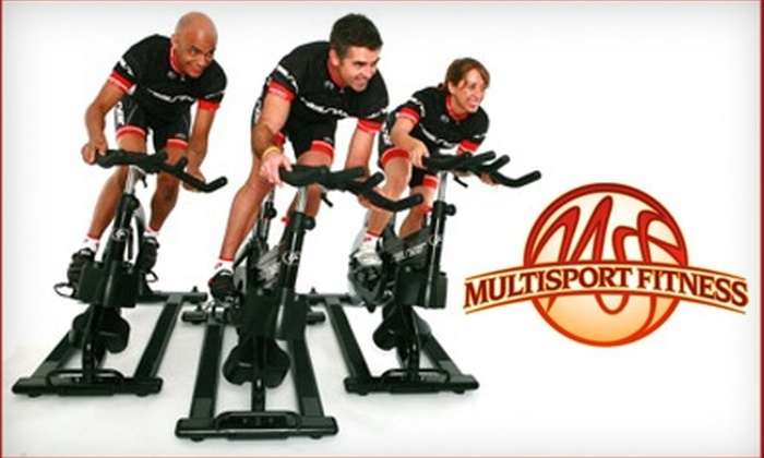 MultiSport Fitness - Multiple Locations: $25 for a Five-Class Punch Card to MultiSport Fitness