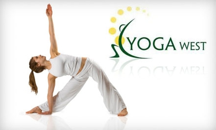 Yoga West - Fulshear-Simonton: $49 for One Month of Unlimited Group Yoga Classes at Yoga West in Katy