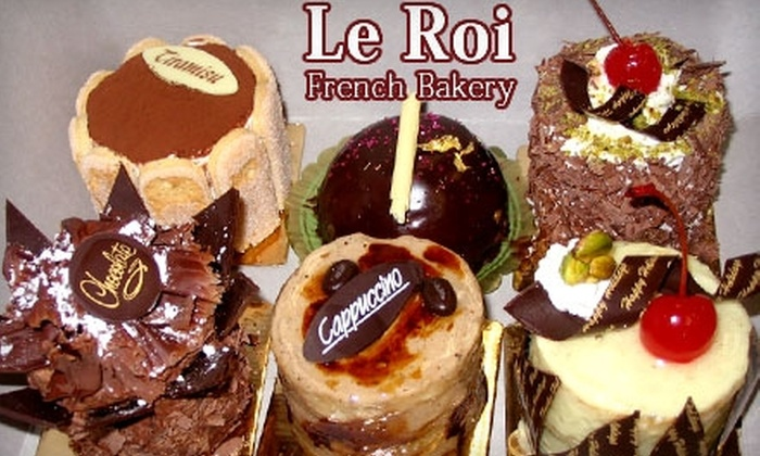 Le Roi French Bakery - Multiple Locations: $5 for $10 Worth of Donuts, Pastries, and More at Le Roi French Bakery