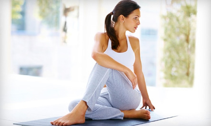 Yoga Desha - Upper Montclair: 5 or 10 Yoga Classes or One-Hour Private Session at Yoga Desha in Montclair (Up to 61% Off)