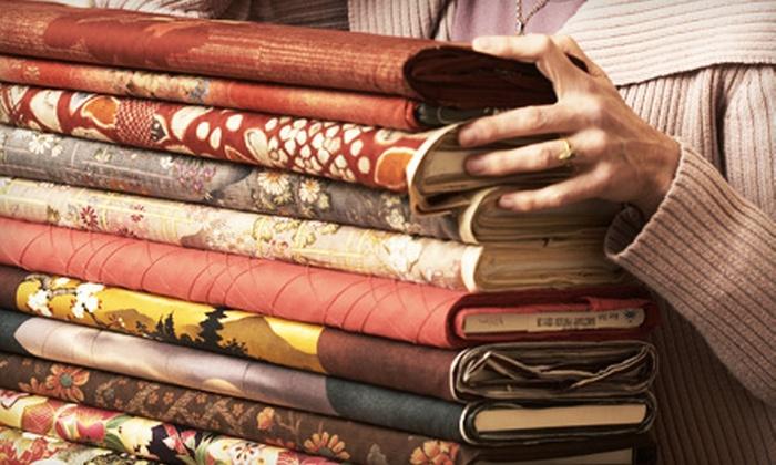 B. Wilk Fabrics - Queen Village/ Pennsport: $25 for $50 Worth of Fabric at B. Wilk Fabrics