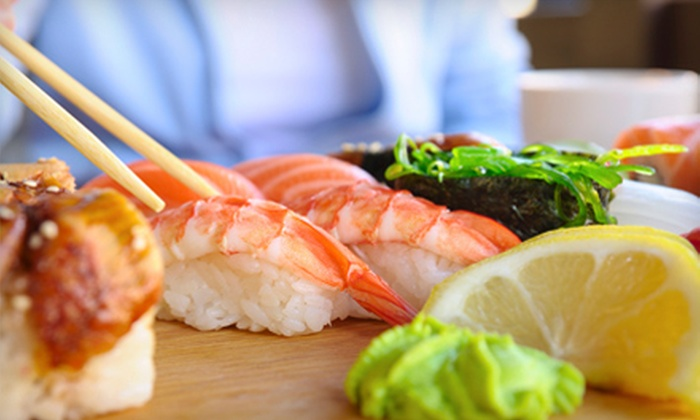 Wasabi Sushi & Asian Grill - West End: $10 for $20 Worth of Japanese Fare at Wasabi Sushi & Asian Grill