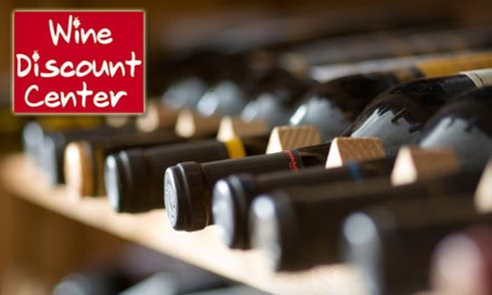 Wine Discount Center - Multiple Locations: $15 for $30 Worth of Quality Wines at Wine Discount Center