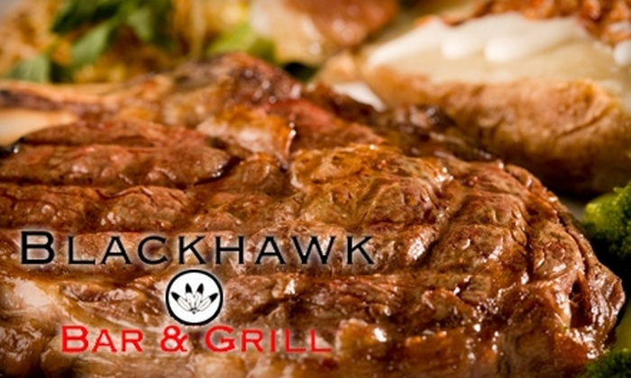 Blackhawk Bar & Grill - Richland: $10 for $20 Worth of Classic Bar Fare and Drinks at Blackhawk Bar & Grill in Richland