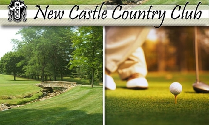 New Castle Country Club - Neshannock: $75 for 18 Holes, Golf Cart, Boxed Lunch, and Locker-Room Access on May 3, 10, or 24 at New Castle Country Club ($150 Value)