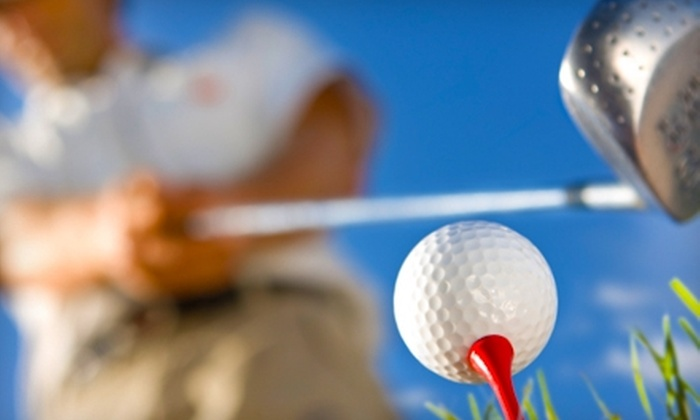 Deep River Golf Range - Deep River: $19 for Five Buckets of Balls for the Driving Range ($40 Value) or $30 for a One-Hour Lesson ($85 Value) at Deep River Golf Range
