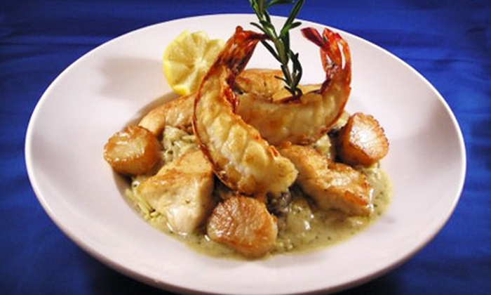 The Big A Grillehouse - Middle Smithfield: $25 for $50 Worth of Italian Cuisine, Steak, and Seafood at The Big A Grillehouse in East Stroudsburg