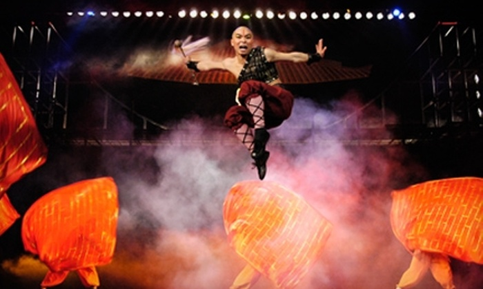 """""""The Legend of Kung Fu"""" - Branson: $36 for Two Tickets to """"The Legend of Kung Fu"""" in Branson (Up to $72 Value)"""