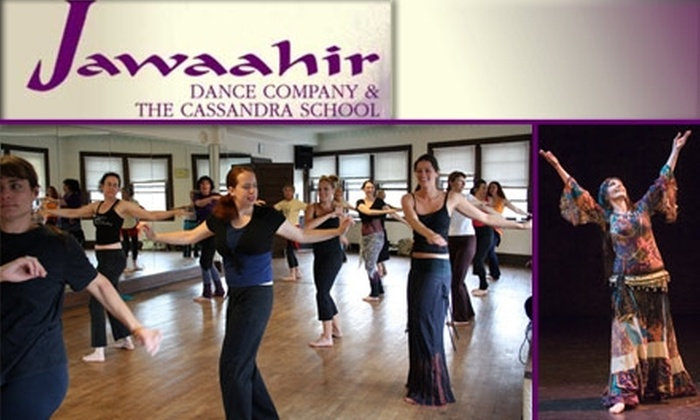 Jawaahir Dance Company / Cassandra School - Lowry Hill: $16 for Two 90-Minute Belly-Dancing Classes at Cassandra School of Belly Dance ($32 Value)