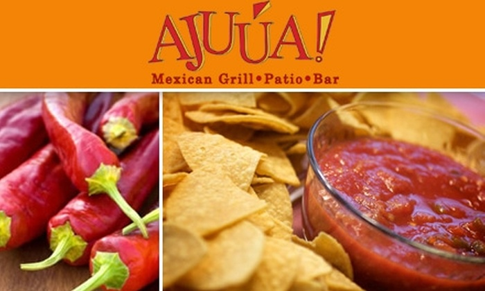 Ajuua Mexican Restaurant - Northwest Side: $15 for $30 Worth of Authentic Mexican Fare at Ajuua Mexican Bar and Grill