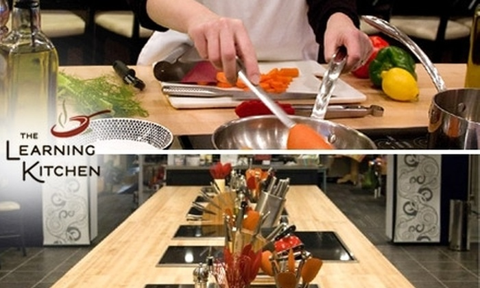 The Learning Kitchen - West Chester: $30 for a Two-Hour Cooking Class at The Learning Kitchen (Up to $75 Value)