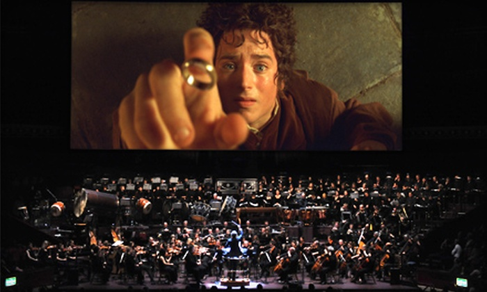 """""""The Lord of the Rings in Concert: The Fellowship of the Ring"""" - Lower Queen Anne: One Ticket to """"The Lord of the Rings in Concert"""" at KeyArena on October 19 at 7:30 p.m. (Up to $87.97 Value)"""