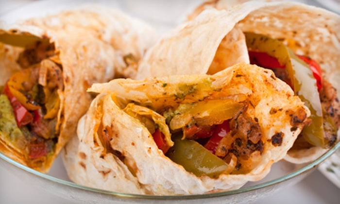 Fiesta Sombreros Grill & Cantina - Addicks: Mexican Fare, Fajitas, and Enchiladas at Fiesta Sombreros Grill & Cantina (Up to 51% Off). Three Options Available.