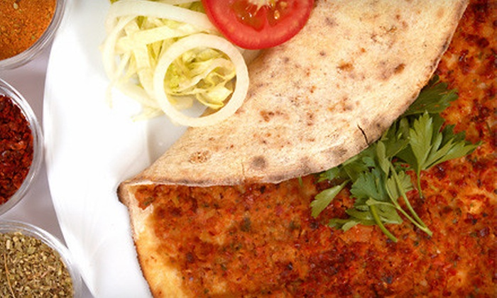 Turquoise - Central Business District: Turkish Dinner for Two or Four at Café Turquoise (Up to 55% Off)