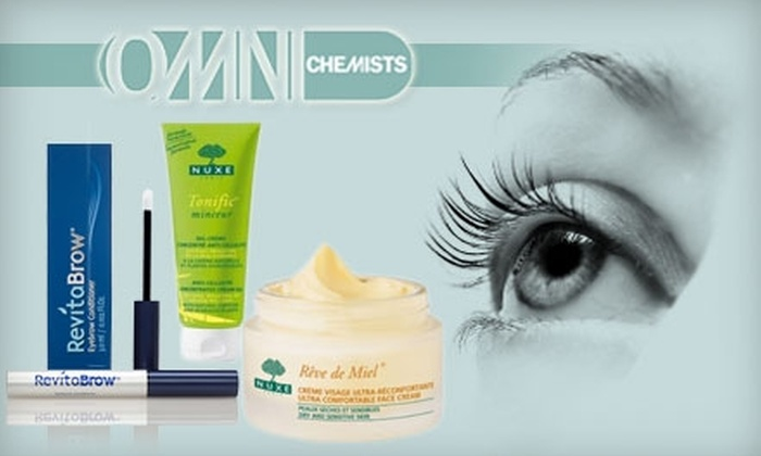 Omni Chemists - Cow Hollow: $20 for $50 Worth of Cosmetics, Toiletries, and More at Omni Chemists