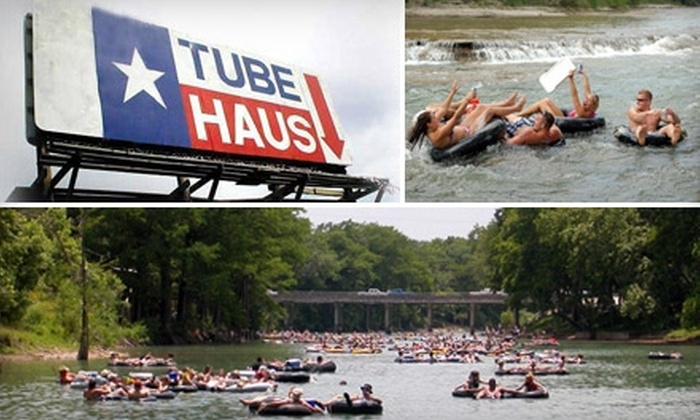 Tube Haus - East Canyon Lake: $7 for a Full Day of River Tubing at Tube Haus in Canyon Lake