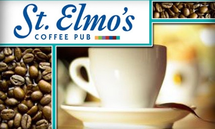 St. Elmo's Coffee Pub - Del Ray: $10 Worth of Coffee and More at St. Elmo's Coffee Pub