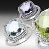$16.99 for Gemstone Sterling Silver Rings