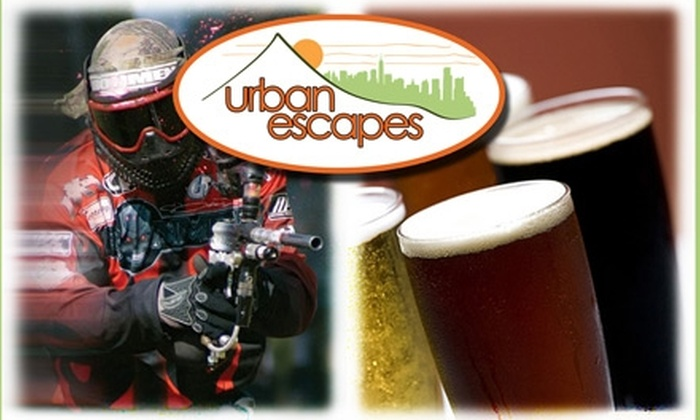 Urban Escapes - Clinton: $79 for Paintball and Beer Tasting with Urban Escapes