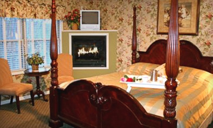 Afton House Inn - Afton: One-Night Getaway or Romance Package for Two at the Afton House Inn in Afton (Half Off)