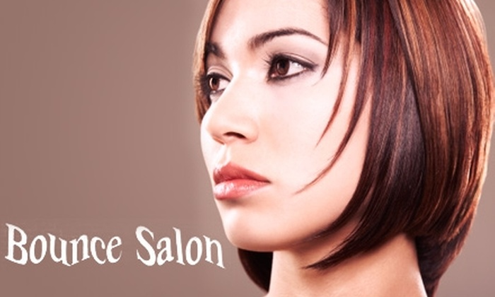 Bounce Salon - O'Fallon: $29 for a Haircut, Style, and Conditioning Treatment (Up to $85 Value) or $69 for a Mini Makeover (Up to $165 Value) at Bounce Salon in O'Fallon