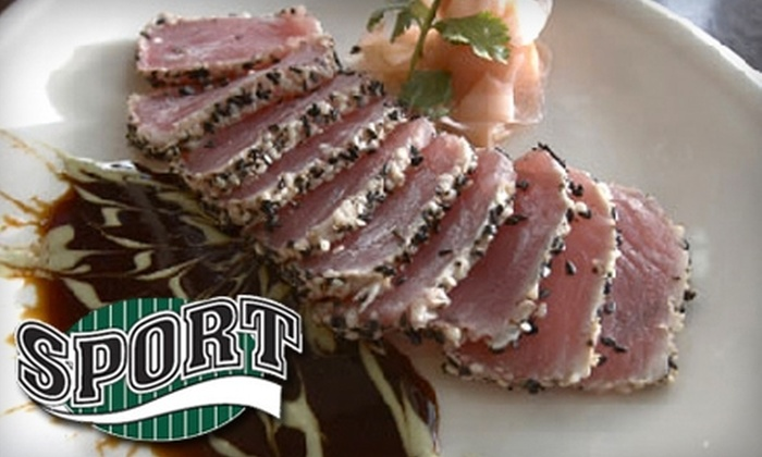 Sport Restaurant & Bar - Seattle: $15 for $30 Worth of American Fare at Sport Restaurant & Bar