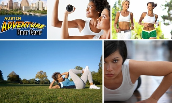 Austin Adventure Boot Camp - Austin: $51 for Six Boot Camp Classes at Austin Adventure Boot Camp ($102 Value)