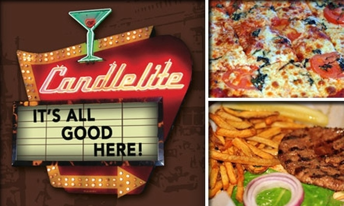 Candlelite - West Rogers Park: $15 for $35 Worth of Pizza, Pub Grub, and Drinks at Candlelite Chicago