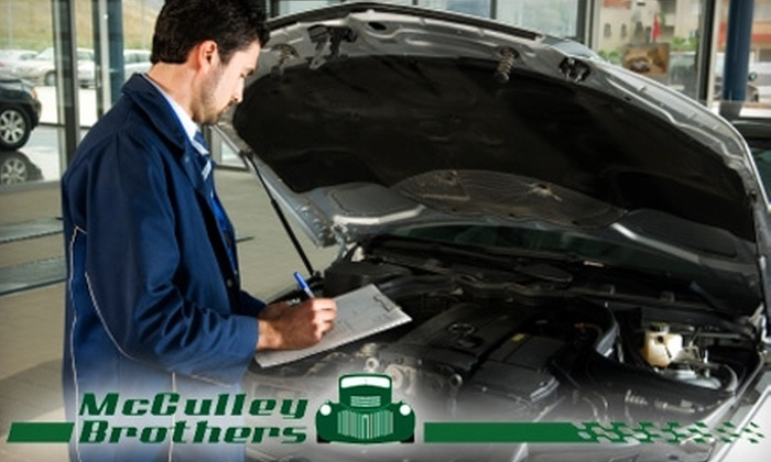 McCulley Brothers - Southeastern Sacramento: $19 for a Standard Oil Change and 25-Point Inspection at McCulley Brothers Automotive ($39.95 Value)
