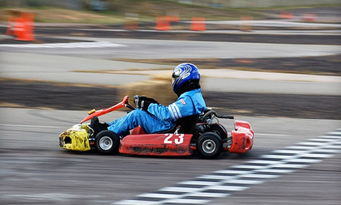 Action Karting - Morrison: 10-Lap Go-Karting Rides for Two or Four People with Equipment Rental and Time Sheet at Action Karting (Up to 54% Off)