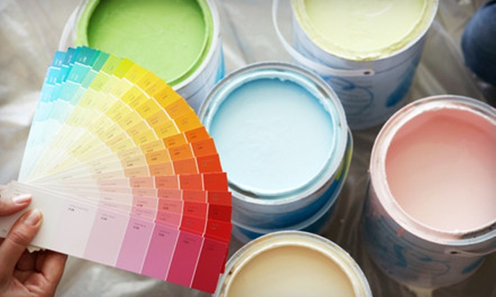 Blondie's Painting - Downtown Vancouver: Interior Paint Job for One or Two Rooms from Blondie's Painting (Up to 70% Off). Three Time-Frames Available.