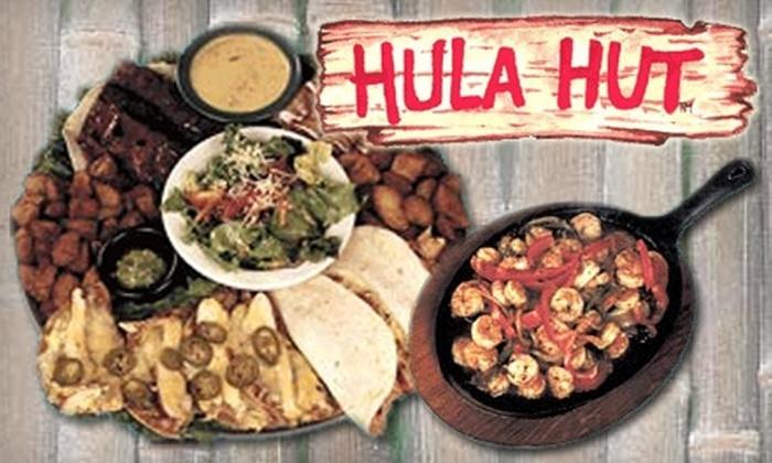 Hula Hut - West Austin: $10 for $20 Worth of Hawaiian Tex-Mex Fusion at Hula Hut