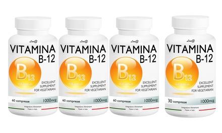 Comprimidos de vitamina B12 para recuperar energía física y mental
