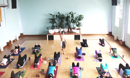 10 or 15 Yoga Classes at Yoga Flow SF (Up to 64% Off)