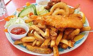 Moby Dick Restaurant: Award-Winning Fish 'n' Chips for Two or Four at Moby Dick Restaurant (40% Off)