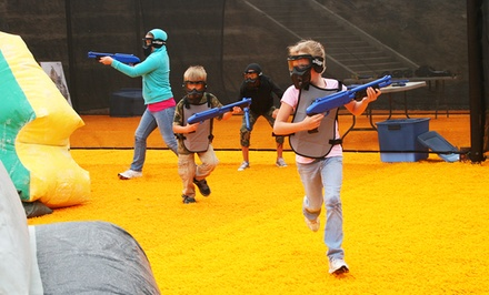 Basic Kids Splatmaster Party for Up to 10 or Splatmaster Walk-On Play for 2 at The Paintball Park (Up to 60% Off)