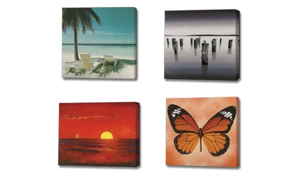 One or Three 10x10 PhototoCanvas Prints at Frame Art Canada (Up to 66% Off)