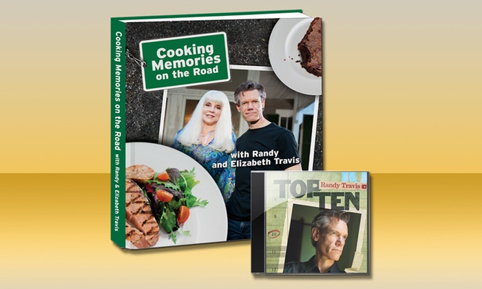 Randy Travis Cookbook and Top 10 CD: Randy Travis Cooking Memories from the Road Cookbook and Top 10 CD. Free Shipping.